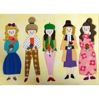 girls series『それぞれの花』