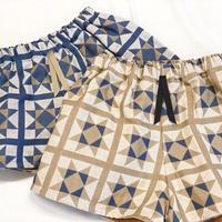 【 eLfinFolk 】Amish quilt shorts