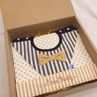 【 Gift box 】ダイヤ型4wayスタイ -Black-