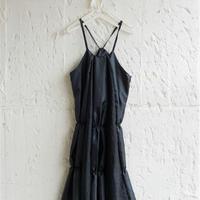 【 UNIONINI 】shirring long dress