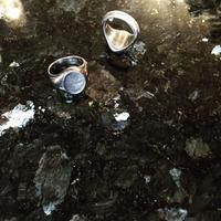【 木宮商店 】四分一印台指輪