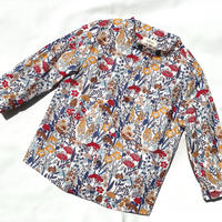 【 melenani 】CHIRTS [チャツ]  Long Sleeve Shirt (WILD FLOWER)