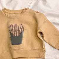 【 piupiuchick 】sweatshirt -ポテト- / 1Y