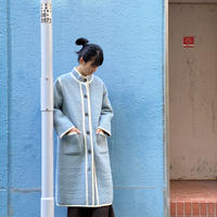 【 Create Clair 】Re-Born stand collar coat