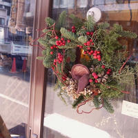 【花園-kaen°-】wreath -Red berry-
