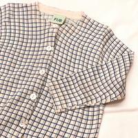 【 FUB 】checked shirt -80 size-