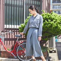 【 OMNIGOD 】Wide work shirts