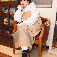 【 POTTENBURN TOHKII 】SQUARE WIDE DRESS