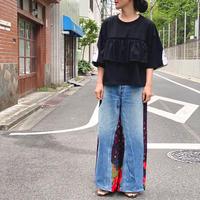 【 Yuumi ARIA 】DENIM DOCKING PANTS -Dot-