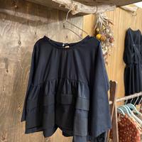 【 UNIONINI 】layer blouse