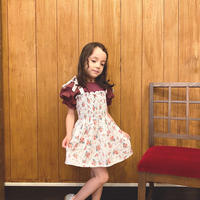 【 tocoto 】Flower dress