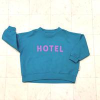 【 piupiuchick 】sweatshirt -HOTEL- / 3Y , 6Y