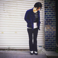 【 inner mind chronology 】Indigo line cook jacket
