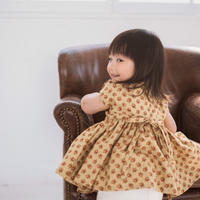 【 melenani 】 Vintage US Cotton Volum Short Dress