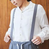【 inner mind chronology 】Open collar shirts