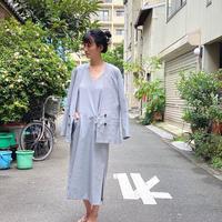 【 daichïogata 】no collar JKT
