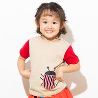 【 ami amie 】タマムシTシャツ -90 size-