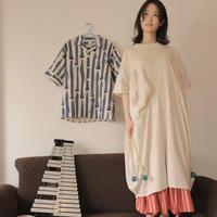 【 UNIONINI 】○△ long dress