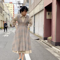 【 Ruimeme 】cotton flannel V neck dress
