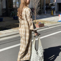 【 umu 】omomi - check - dress