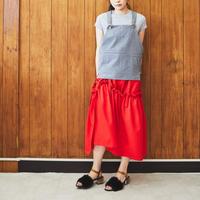 【Akihide Nakachi 】asymmetry skirt