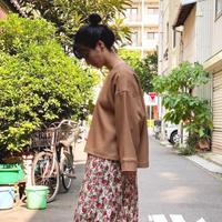 【 eLfinFolk 】kersey stretch blouse