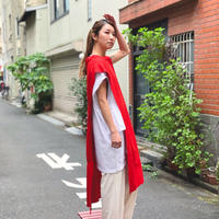 【 UNIONINI 】side open dress