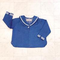 【 AU CLAIR DE LA LUNE 】セーラーシャツ L/S -110,130size-