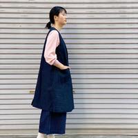 【 OMNIGOD 】Sleeveless Dress Coat
