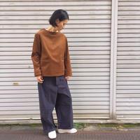 【 inner mind chronology 】コーデュロイプルオーバーシャツ