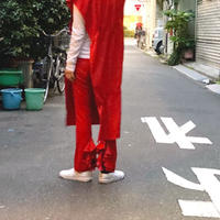 【 UNIONINI 】flared frill pants