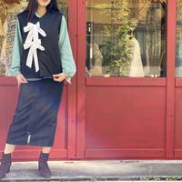 【 MARU TO 】Padding Vest (トップス)