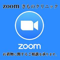 【ZOOM(ズーム)にて着物メンテナンスのご相談】Zoomクリニック(丸洗い付き)