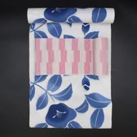 新江戸染め浴衣|群青の椿|仕立て込み