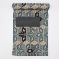 新江戸染め浴衣|キュービック矢羽|仕立て込み