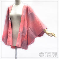 Morning glow like gradation haori, pink #h021
