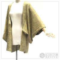 Japanese maple pattern haori, leaf green #h012