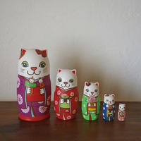 MATRYOSHKA 5sets 雛祭り猫  Girls Festival cat