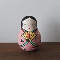 お多福おきあがりこぼし Rory Poly Doll of Otafuku