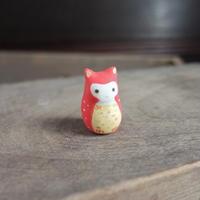 赤みみずくのフェーブ Feve of owl