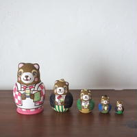 MATRYOSHKA 5setsビアホール狸 Beer hall Raccoon