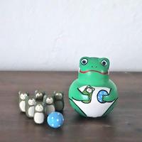 かえるボウリング Frog Bowling