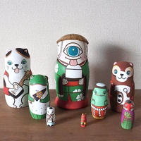 MATRYOSHKA 8sets 八鬼夜行  Eight specter