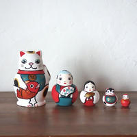 MATRYOSHKA 5sets めでた尽くし Lucky charm