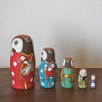 MATRYOSHKA 5sets 舌きり雀 The Sparrow's Tongue