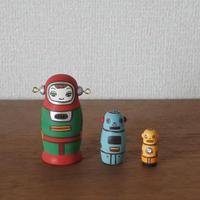 MATRYOSHKA 3sets ロボット Robot