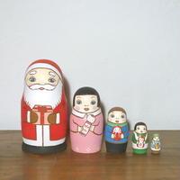 MATRYOSHKA 5sets サンタからの贈り物  Santa's gift