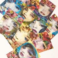 『FLOWER GIRLS』ポストカード10枚セット