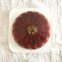カラメルオレンジケーキ