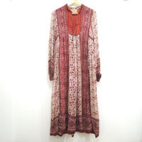 Vintage 70's indian cotton dress by Oh Culcutta